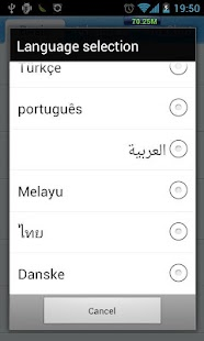 GO SMS Pro Norwegian language - screenshot thumbnail