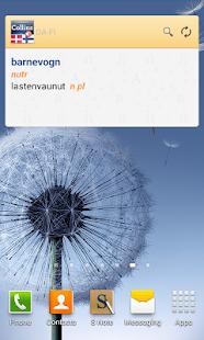 Danish-Finnish Dictionary TR - screenshot thumbnail