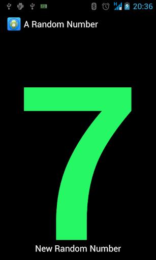 A Random Number