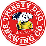 Logo for Thirsty Dog Brewing Co.