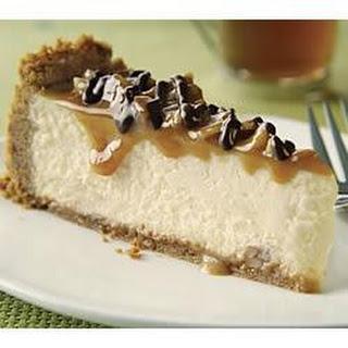 Caramel Pecan Cheesecake.