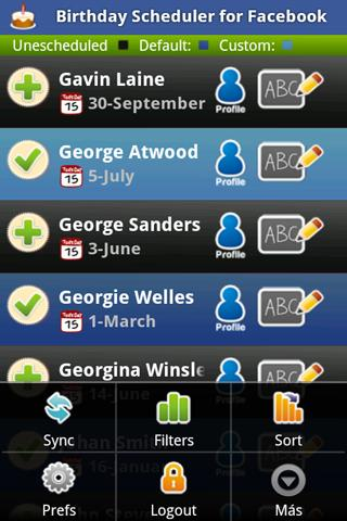 Birthday Scheduler for Fb Lite - screenshot
