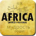 African proverbs and quotes icon