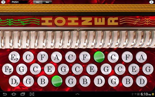Hohner-GCF Button Accordion - screenshot thumbnail