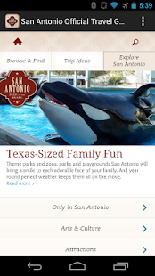 San Antonio Official Guide - screenshot thumbnail