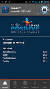 Radio Positive France- screenshot thumbnail