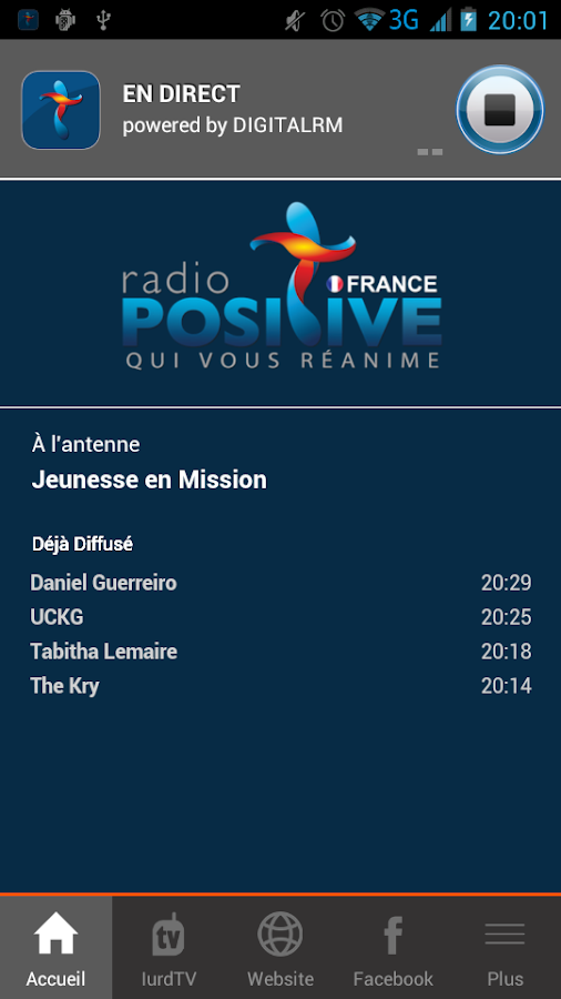 Radio Positive France- screenshot