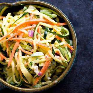 Zucchini Slaw.