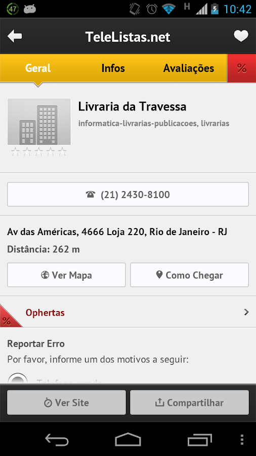 TeleListas.net Mobile - screenshot
