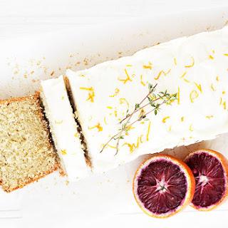 Whole Orange Tea Cake with Cream Cheese Icing