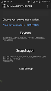 IMEI TOOL SAMSUNG Note4 v2.3