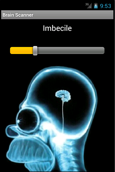 Brain Scanner Prank - screenshot