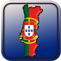 Map of Portugal icon