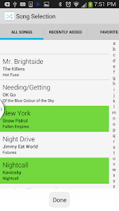 Shuffle Plus Music Player screenshot 0