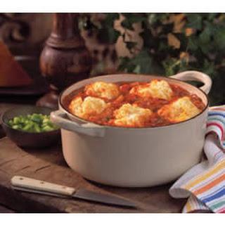 Cheddar Tomato Dumplings