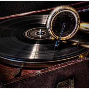 His Masters Voice by Chris Duffy - Artistic Objects Antiques ( music, hmv, gramophone, record, needle, record player,  )
