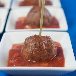 Slow Cooker Pizza Meatballs