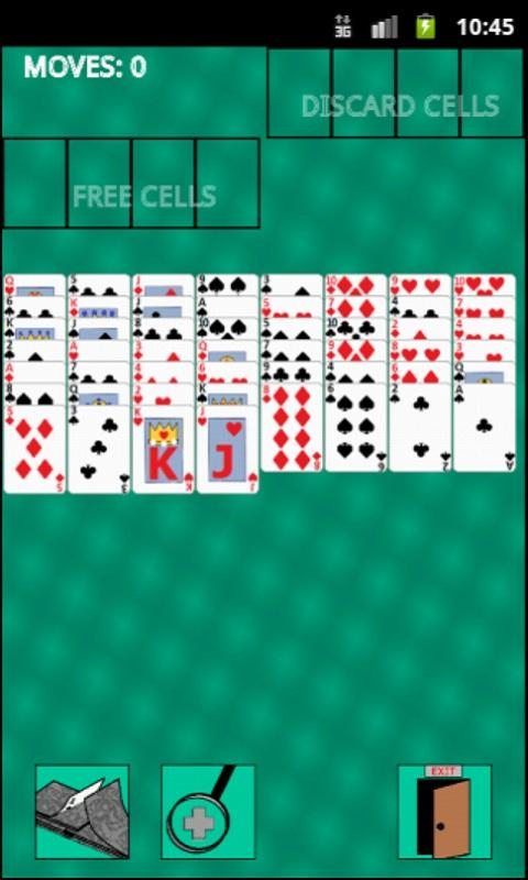 Free Cell Solitaire - screenshot