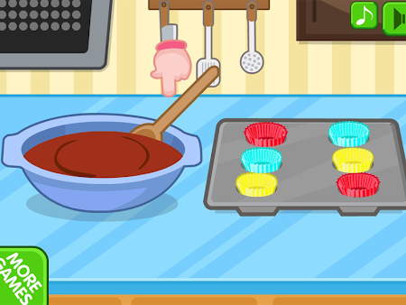 Chocolate cupcake maker 1.0.8 screenshot 560503