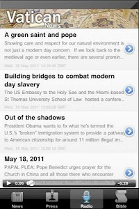 Vatican- News, Radio, KJ Bible screenshot 1