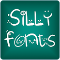 Silly fonts for FlipFont free icon
