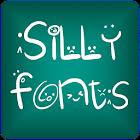 Silly Tip FlipFont® Gratis icon