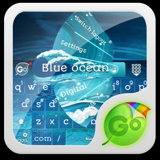 藍海 GO Keyboard LOGO-APP點子