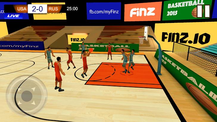Play Basketball Hoops 2015- screenshot thumbnail