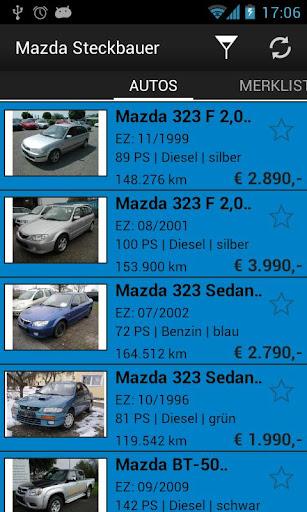 Mazda Steckbauer