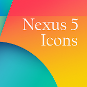 Nexus 5 icons Apex Hola Nova