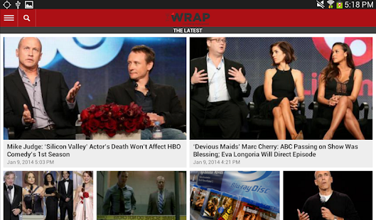 TheWrap.com - screenshot thumbnail