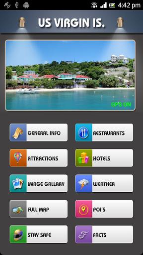 US Virgin Island Offline Guide