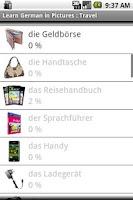 Screenshot of German in Pictures: Travel