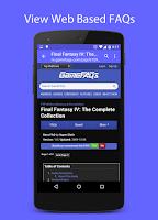 Screenshot of FAQr