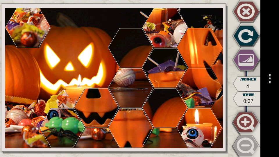 HexSaw - Halloween- screenshot