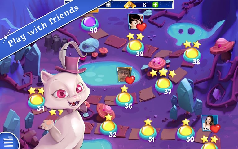 android Bubble Witch 2 Saga Screenshot 9