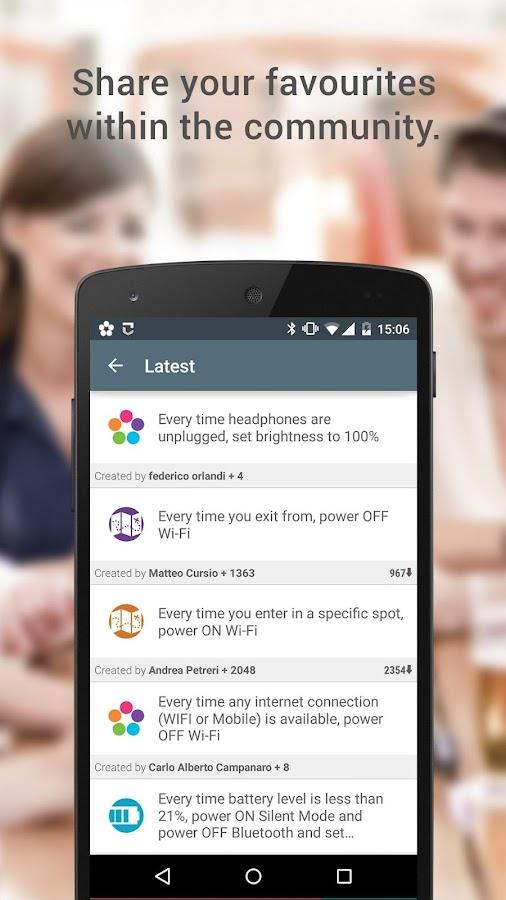 Atooma - Smart Assistant - screenshot