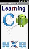 Screenshot of C Language learning Tutorial