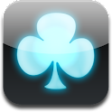 iPhone Neon Blue GO Launcher logo