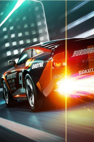 3D Super Speed Racing Car - screenshot