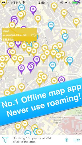 Milan Italian Offline Map