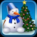 Natale giocattoli puzzle game icon