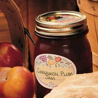 Cinnamon Plum Jam.