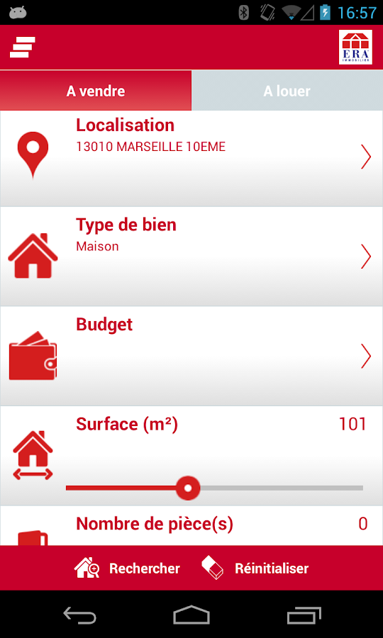 ERA Immobilier - screenshot