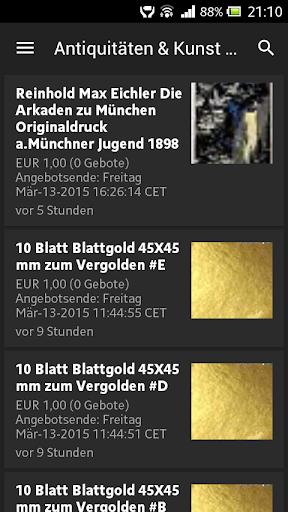 1€ Auktionen auf Ebay Austria