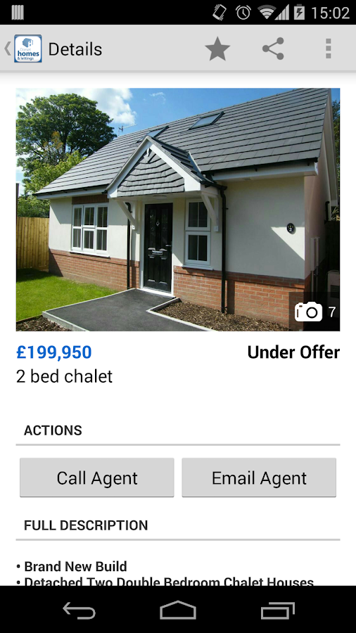 Dorset homes and lettings- screenshot