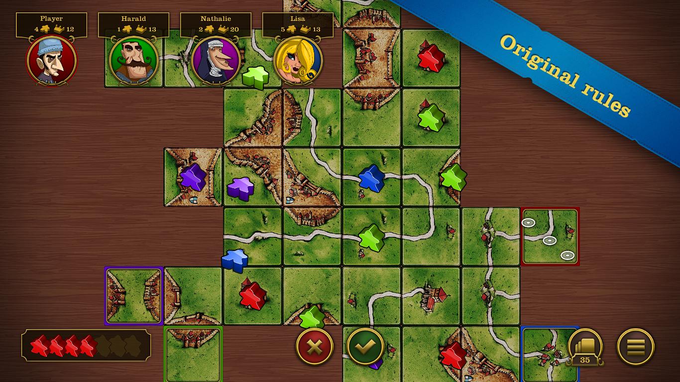 Carcassonne screenshot #19