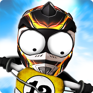 stickman downhill motocross android apps on google play. Black Bedroom Furniture Sets. Home Design Ideas
