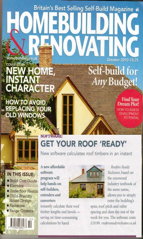 Roofing Ready Reckoner- screenshot