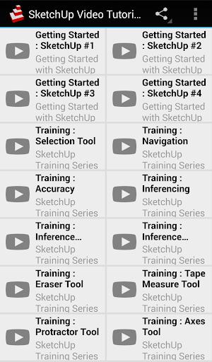 SketchUp Video Tutorials
